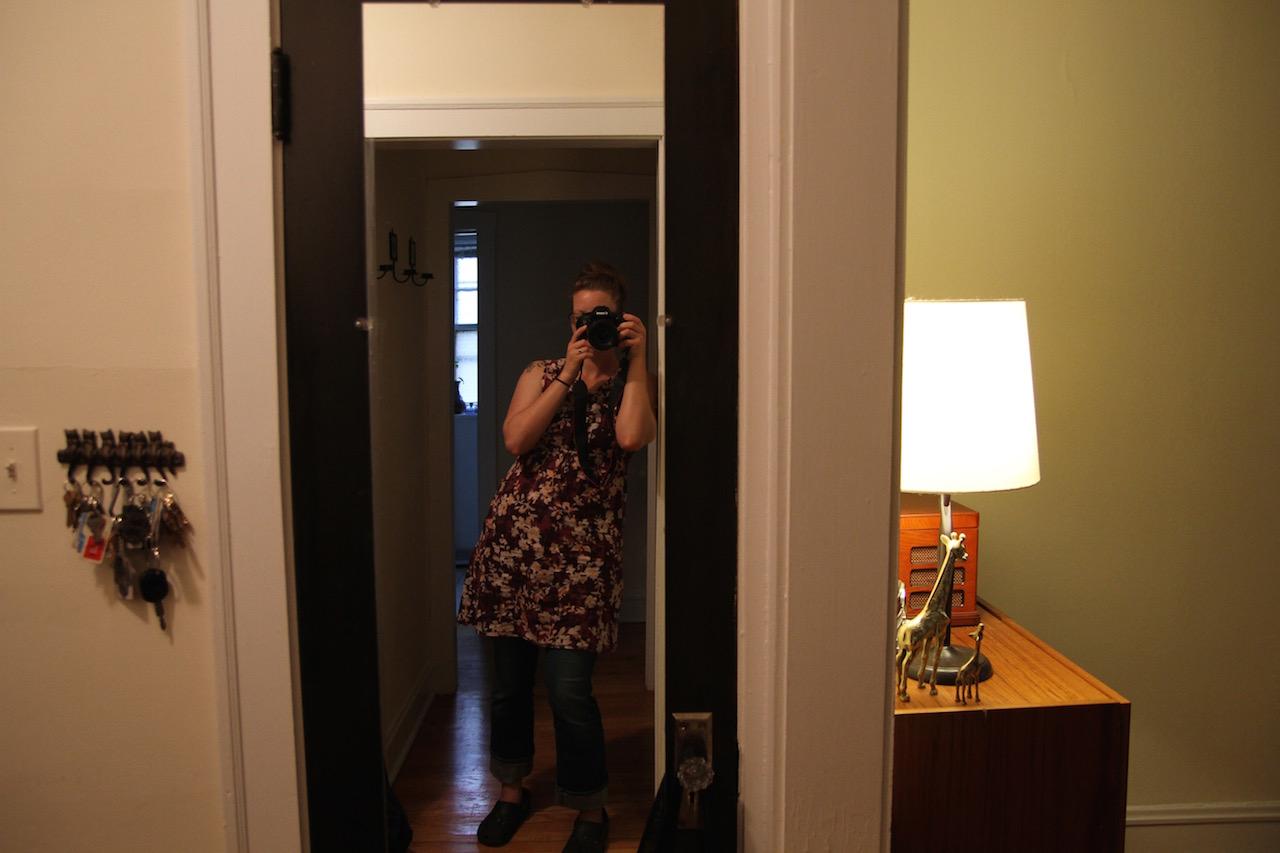 Day 1: Fluff Post (i.e. Self-Portraiture)
