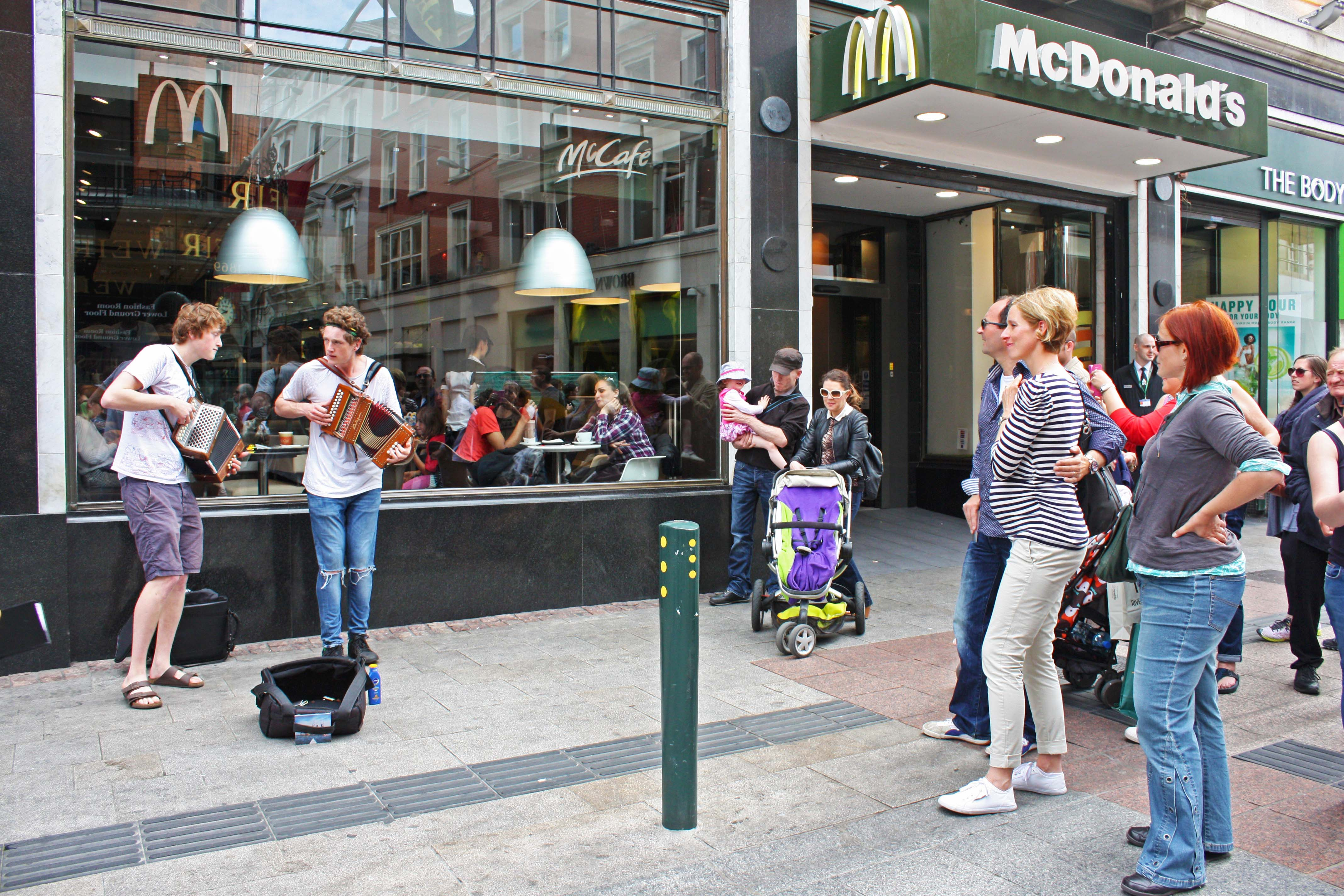 Being Grateful for Buskers