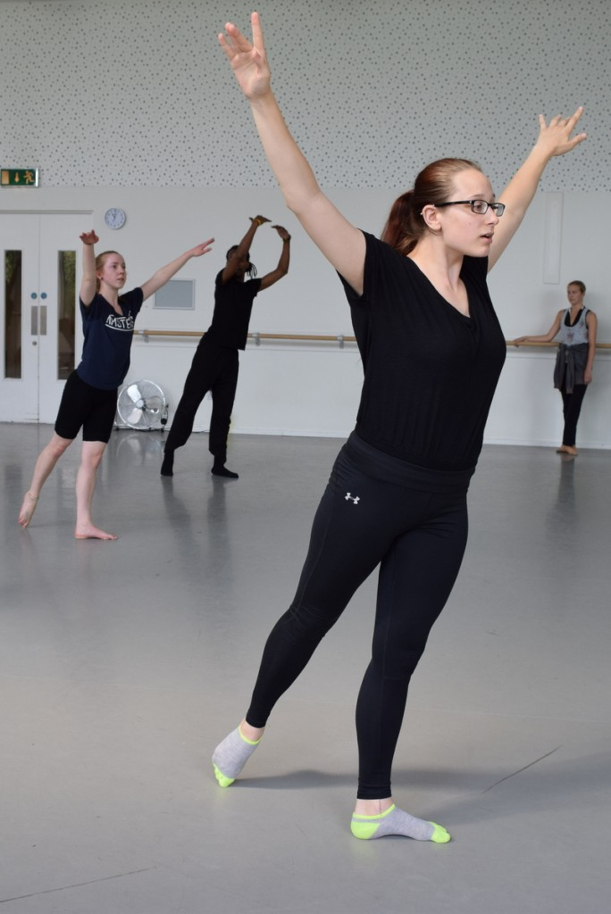 Ballet Class taught by Christine Kono. Photograph by Melissa Donegan.