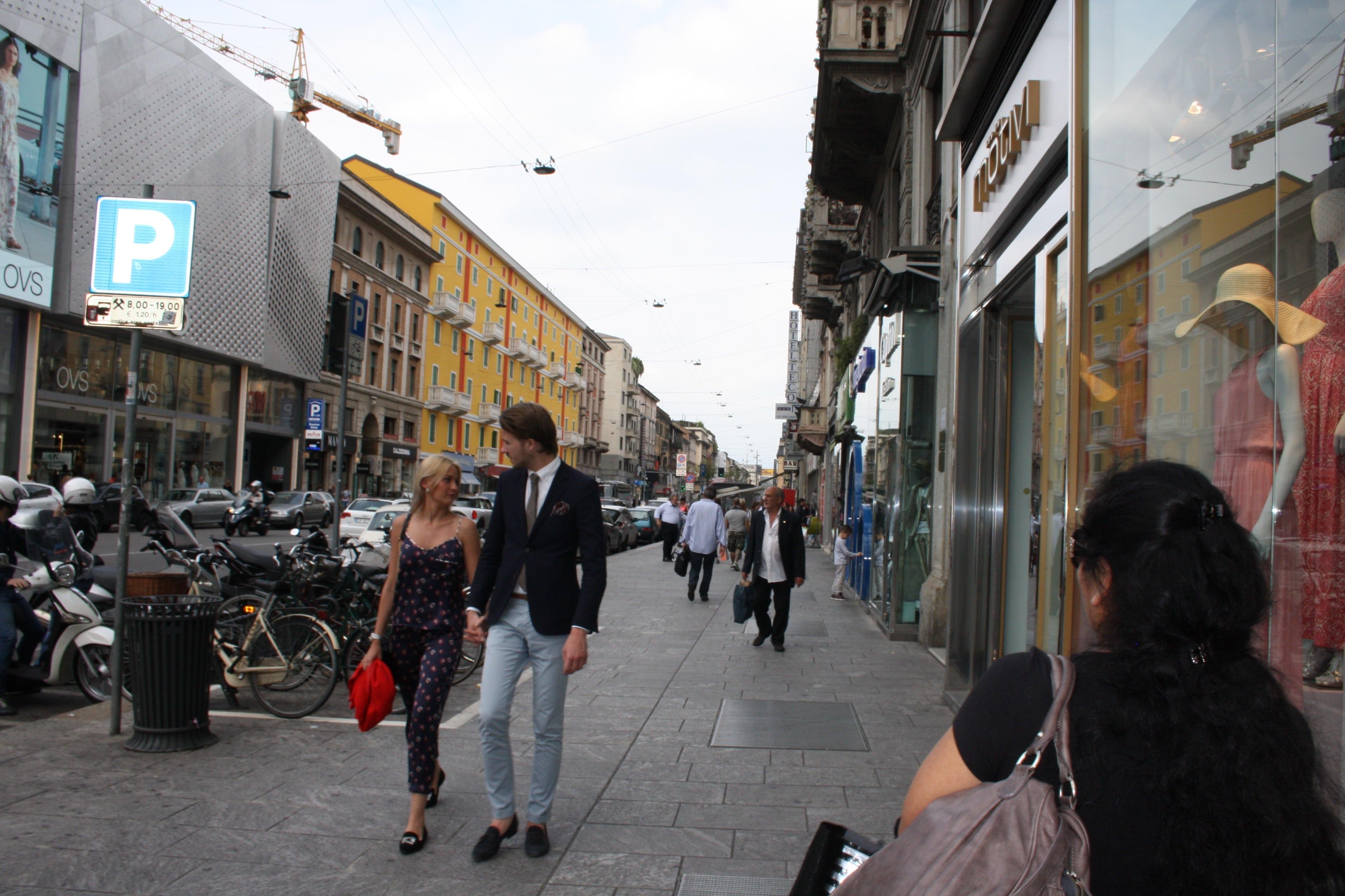 Movement in Milan