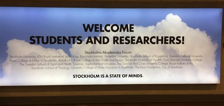 The first sign I saw entering Sweden. I knew I was in a different country when this came into view.