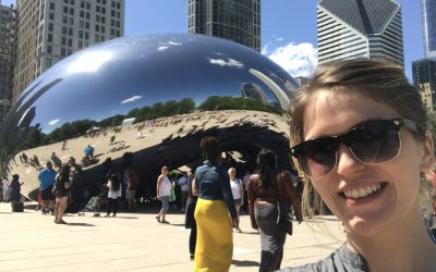 Smelling Roses: A Chicago Selfie Tour