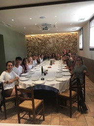 A Day of Wine and Olive Oil Production Leads to a Reflective Class