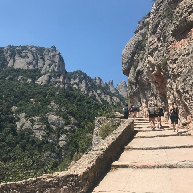 Revisiting Myself on Montserrat