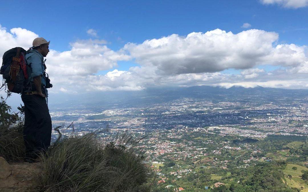 Peaking on Pico Blanco
